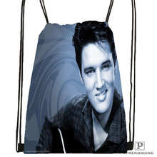 Custom gty_elvis_presley Drawstring Backpack Bag Cute Daypack Kids Satchel (Black Back) 31x40cm#2018612-01-22
