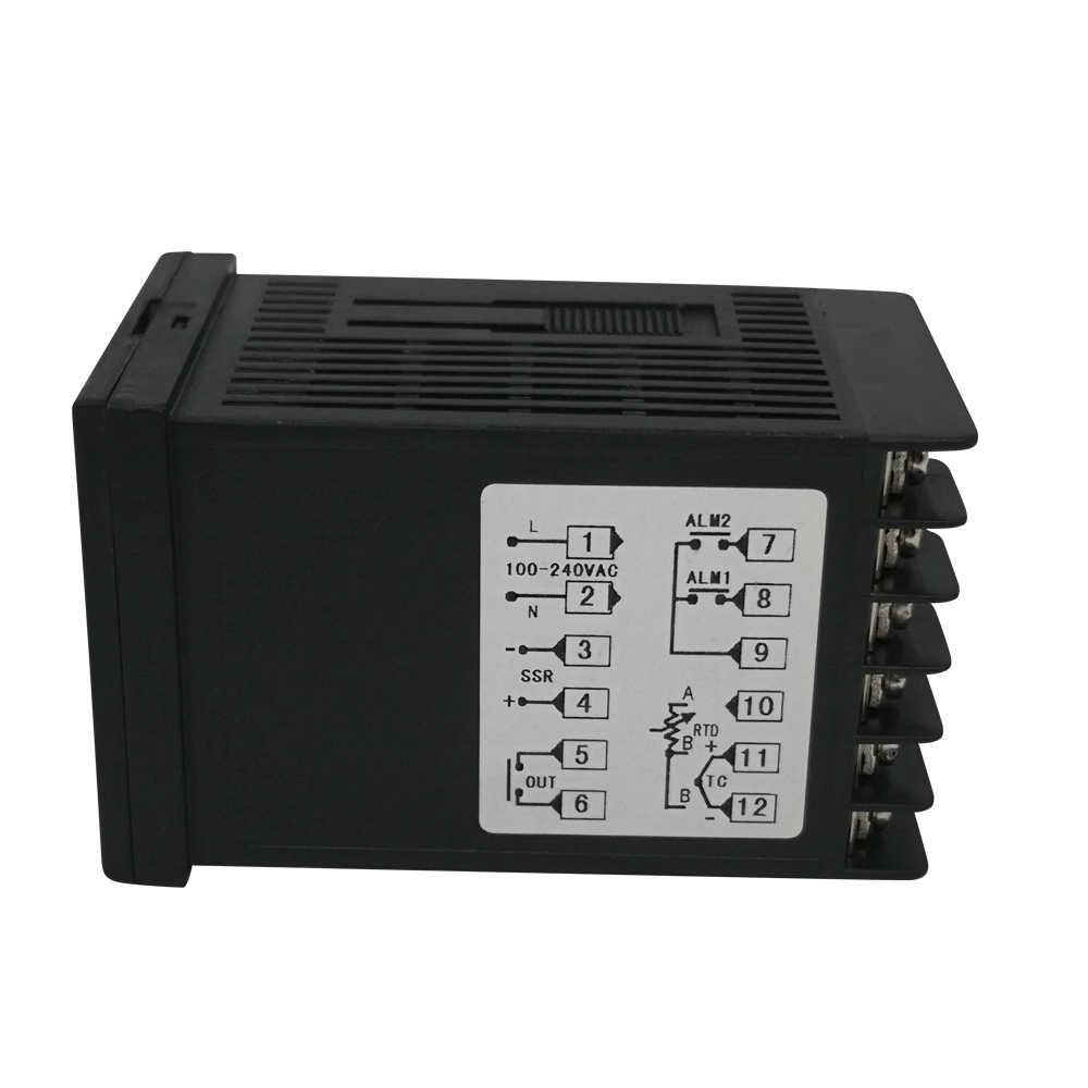 Le plus récent régulateur de température Max test température 1372 degrés thermorégulateur avec double affichage et sortie relais d'alarme