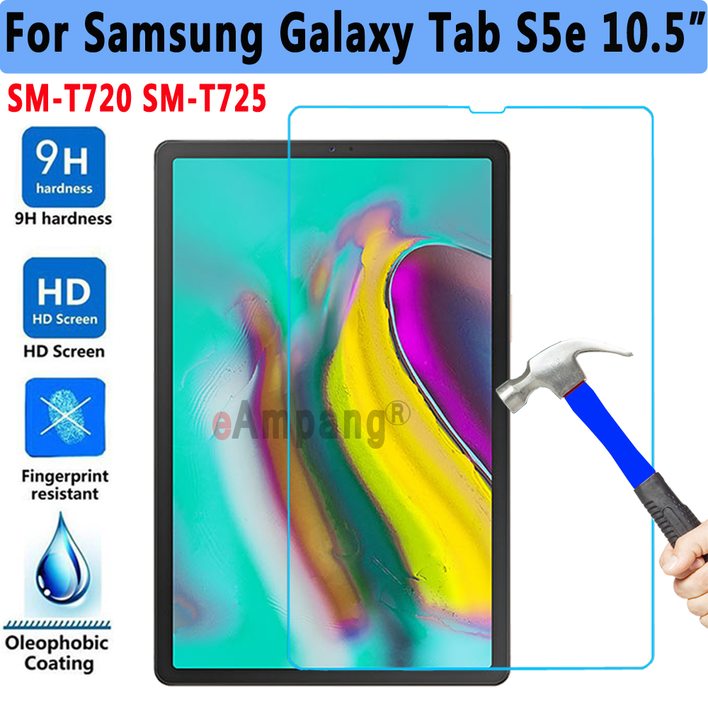 Screen Protector Tempered Glass For Samsung Galaxy Tab S5e 10.5 2019 SM-T720 SM-T725 T720 T725Tablet Protective Glass 9H HD 0.3