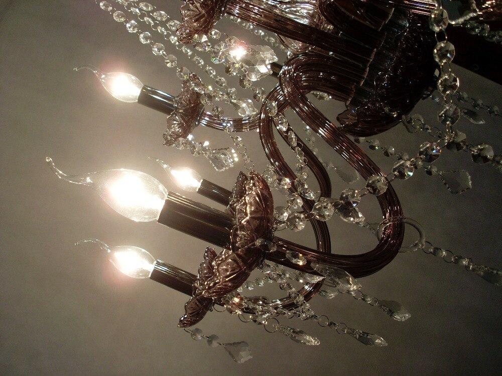 12 Lampen European Candle Kristall kronleuchter lampe und kristall ...