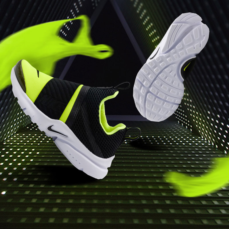 4a19a326cc5e Original NIKE PRESTO EXTREME Boys Kids Running Shoe Slip On Lightweight  Damping Children Casual Sport Sneakers-in Sneakers from Mother   Kids on ...