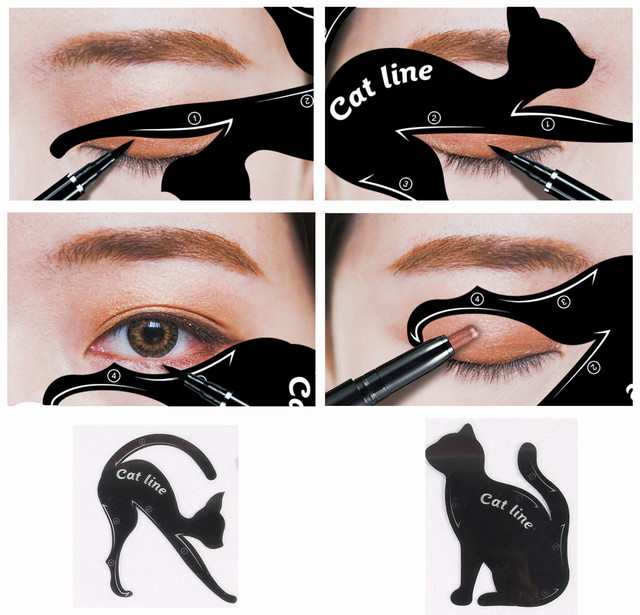 Multifunction Cat Line eyeliner Makeup Tools 3