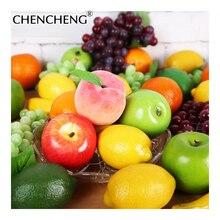 Buy  lastic Lifelike Fake Fruit For Home Decor   online