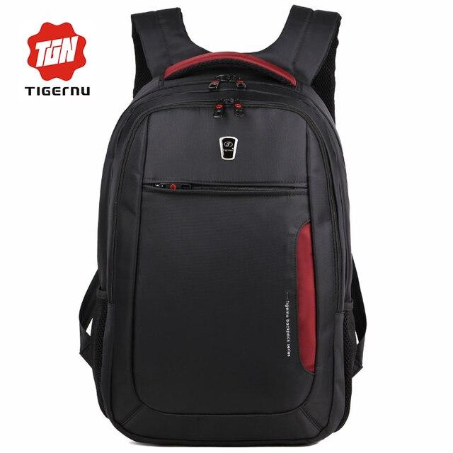 2017 tigernu marca homens mochila mochila 15.6 polegada laptop mochilas bolsa para laptop macho saco mulheres sacos de escola para adolescentes mochila