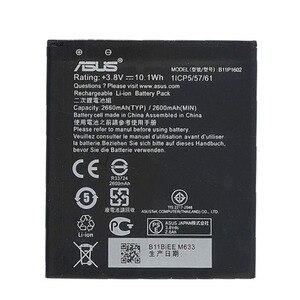 Image 2 - מקורי ASUS B11P1602 טלפון סוללה עבור ASUS Zenfone ללכת ZB500KL X00AD X00ADC 2600mAh