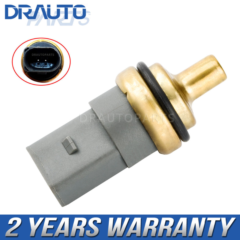 Coolant Water Temperature Sensor For VW Golf Jetta Polo Passat Audi A1 A3 A4 Seat Skoda 06A919501A OE#06A919501A 06A 919 501 A