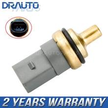 Coolant Water Temperature Sensor For VW Golf Jetta Polo Passat Audi A1 A3 A4 Seat Skoda 06A919501A OE#06A919501A 06A 919 501 A