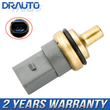 Sensor de temperatura del agua refrigerante para coche, para VW Golf Jetta Polo Passat Audi A1 A3 A4 Seat Skoda 06A919501A OE # 06A919501A 06A 919 501 A