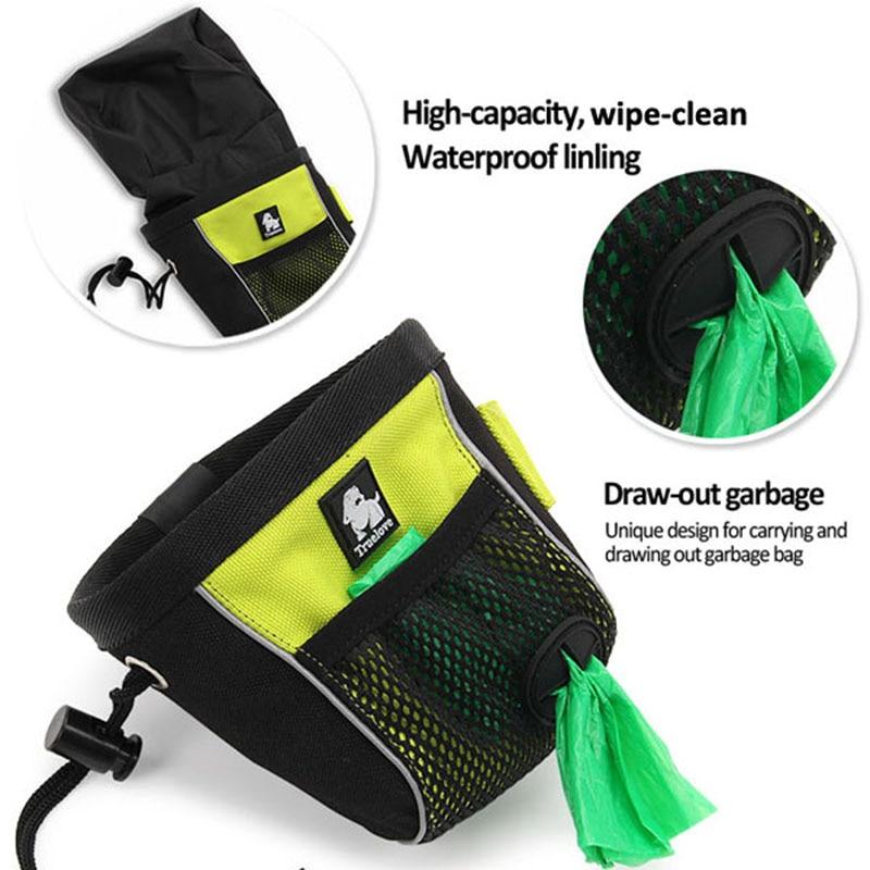 Truelove Portable Snack Dog Udhëtim Trajtoni qese Reflektuese për - Produkte për kafshet shtëpiake - Foto 2
