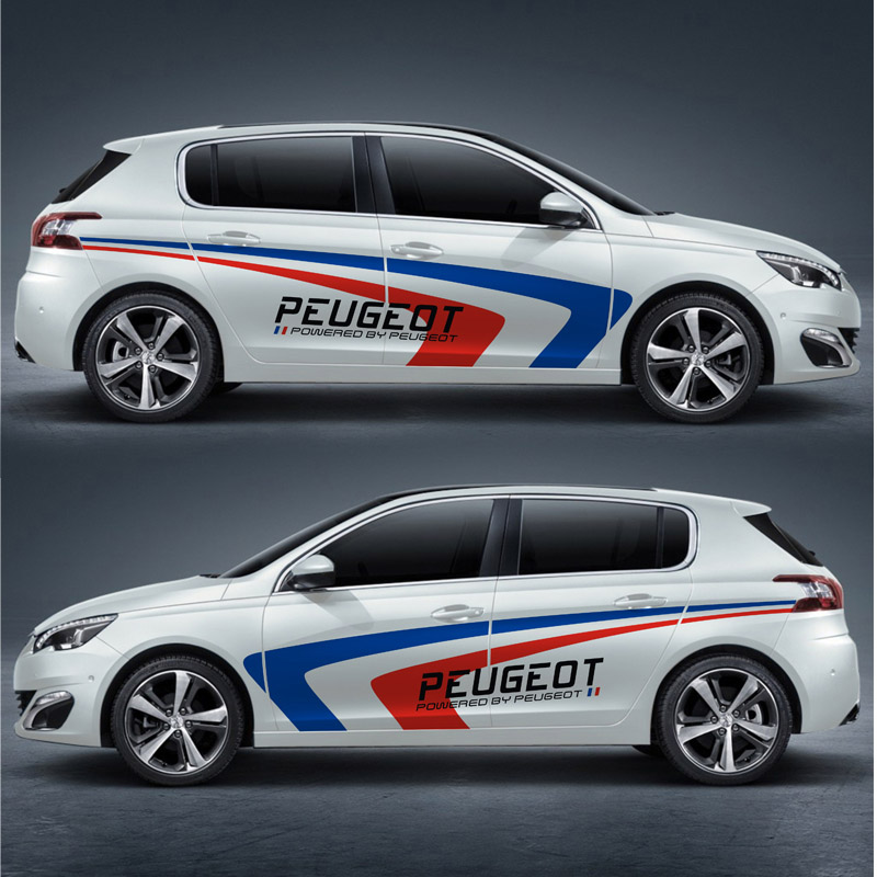TAIYAO car styling sport car sticker car accessories for PEUGEOT 308S Mark Levinson car accessories and decals auto sticker ollin увлажняющий бальзам для волос ollin service line moisturizing balsam 721982 5000 мл