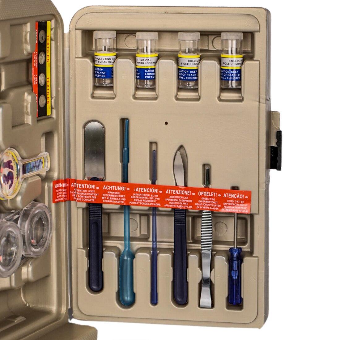 DIY 100X 200X 300X 600X 1200X Hd gran angular microscopio óptico puzle análisis celular equipo Experimental Stem Toy para niños - 4