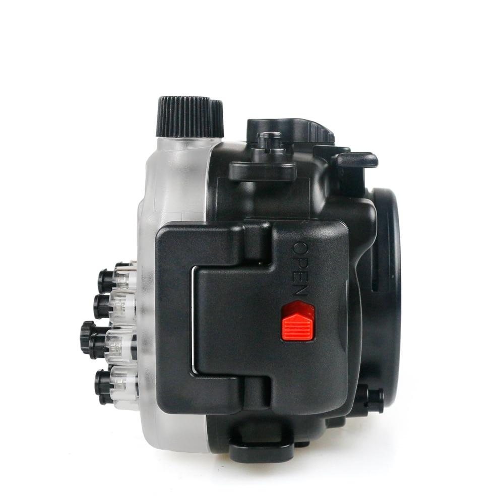 Câmera Subaquática Caso 40 m Classificação Profundidade