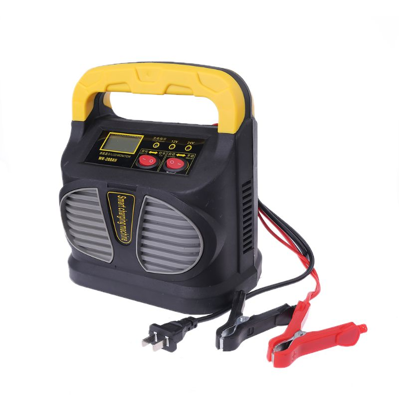 Portable 12v-24V Intelligent High Power Battery Charger Car Jump Starter