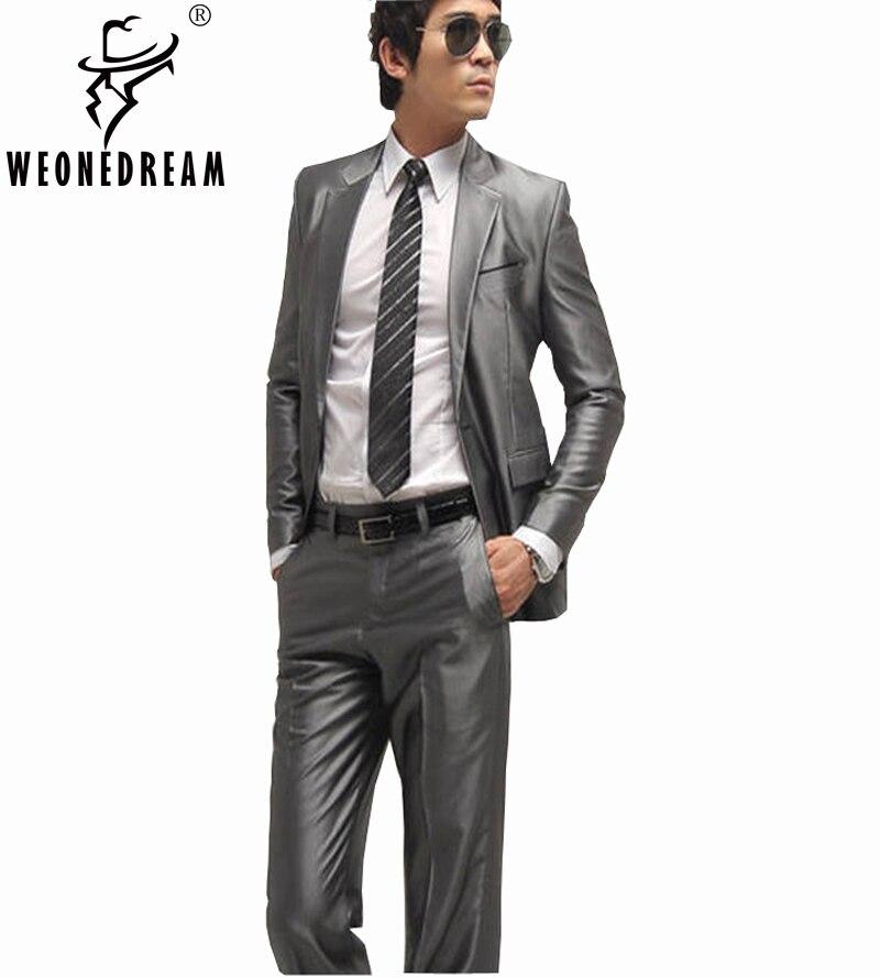 Slim Fit Suit Brands Dress Yy
