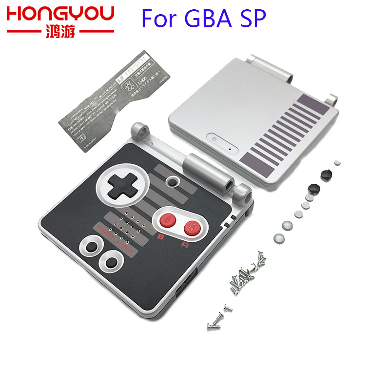 10Pcs For GBA SP Housing Case Cover For GameBoy Advance SP Classic NES Limited Edition Replacement