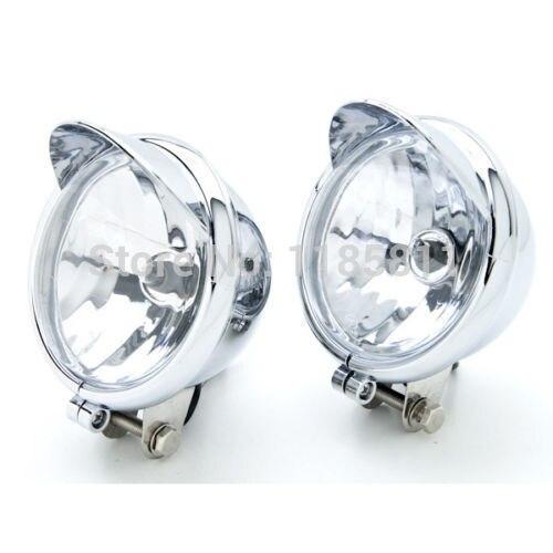 Passing Fog Headlight For Suzuki Intruder Volusia VS 700 750 800 1400 1500 M109R M50 M90 Kawasaki VN Vulcan Classic Nomad 1600
