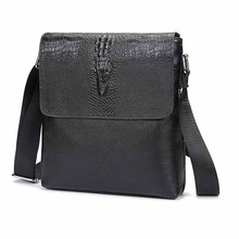 iPad Bag Crossbody-Bags Shoulder-Messenger-Bags Business Small Genuine-Leather Gift Flap