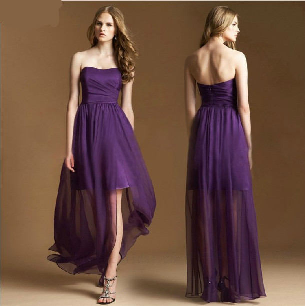 Popular Eggplant Bridesmaid Dresses-Buy Cheap Eggplant Bridesmaid ...