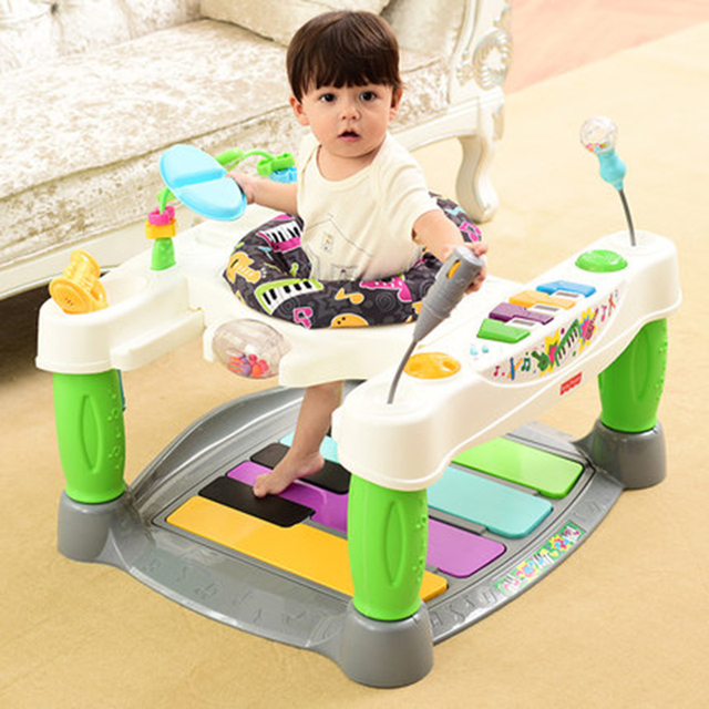 RU wholesale 360 degree music baby walker,  fit for 6-24 month,develop intelligence Russian warehouse fast shipping baby gift