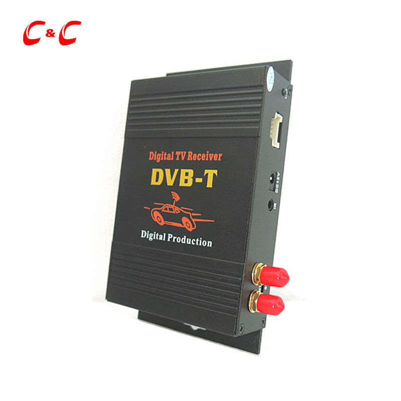 NEW Car Digital TV Box DVB-T Dual Tuner MPEG2 and MPEG4 AVC/H.264 for Receiver Middle East, Australia car digital tv box dvb t dual tuner mpeg2 and mpeg4 avc h 264 for english french german italian spanish greek russian