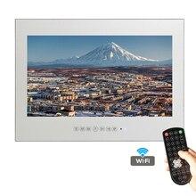 Souria 22 дюймов выполненные Smart Android Водонепроницаемый без каблука Экран волшебное зеркало Ванная комната ТВ Водонепроницаемость душ ТВ