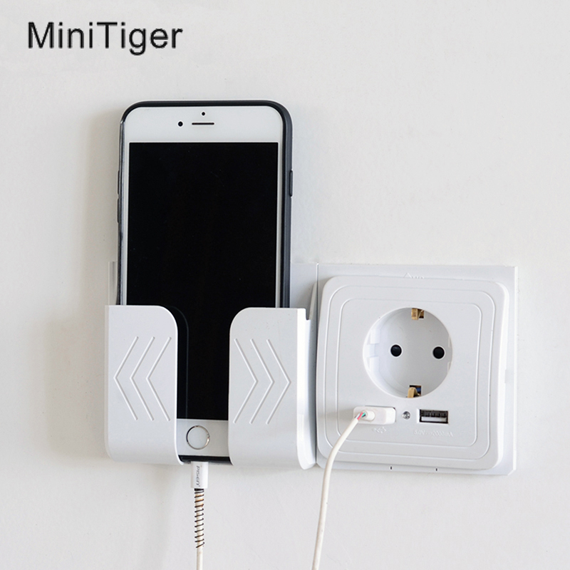 Minitiger Smart Home Dual USB Port Wall Charger Adapter Charging 2A Wall Charger Adapter EU Plug Socket Power Outlet Panel