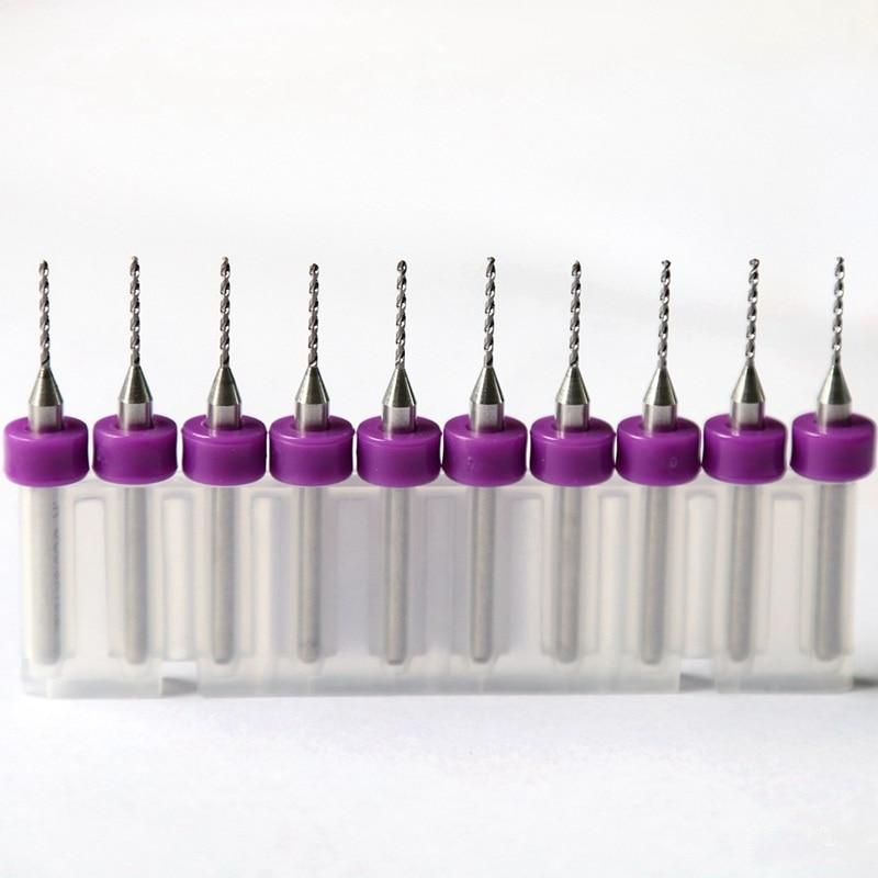 Gręžimo įrankiai 0.3mm – 1.2mm, 10PCSPCB gręžimo, karbido CNC - Grąžtas - Nuotrauka 5