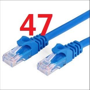 Лмзс 47 # Ethernet кабель высокого Скорость RJ45 сеть LAN кабель маршрутизатор компьютер Cables888
