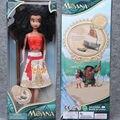 Moana Crianças Presentes de Natal Personalizados Moana Aventura Mo Ahna Moana Princesa Boneca de Brinquedo de Presente Anime Figuras Brinquedos para As Crianças