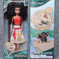 Moana Niños Regalos De Navidad Personalizadas Moana Aventura Mo Ahna Moana Princesa Regalo de la Muñeca de Anime Figuras de Juguete Juguetes para Niños