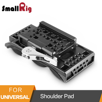 SmallRig Universal Shoulder Pad With Drop In Baseplate Manfrotto Quick Release 15mm LWS Camera Base For