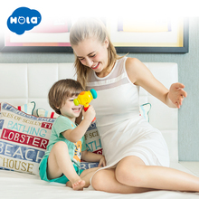 Kids Play & Learn Toy Hammer Electric Music Sound Funny Interactive Effect Toys with Big Smile for Baby