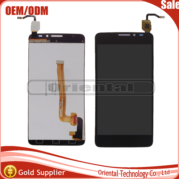For Alcatel One Touch Idol X+ X Plus OT6043 6043 6043D LCD Display Touch Screen Digitizer Assembly free shipping жидкость для мытья посуды aos лимон 1 л