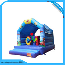 Commercial Inflatable Jump Bouncer Outdoor Funny Inflatable Jumping Castle For Kids High PVC Tarpaulin With Air Blower
