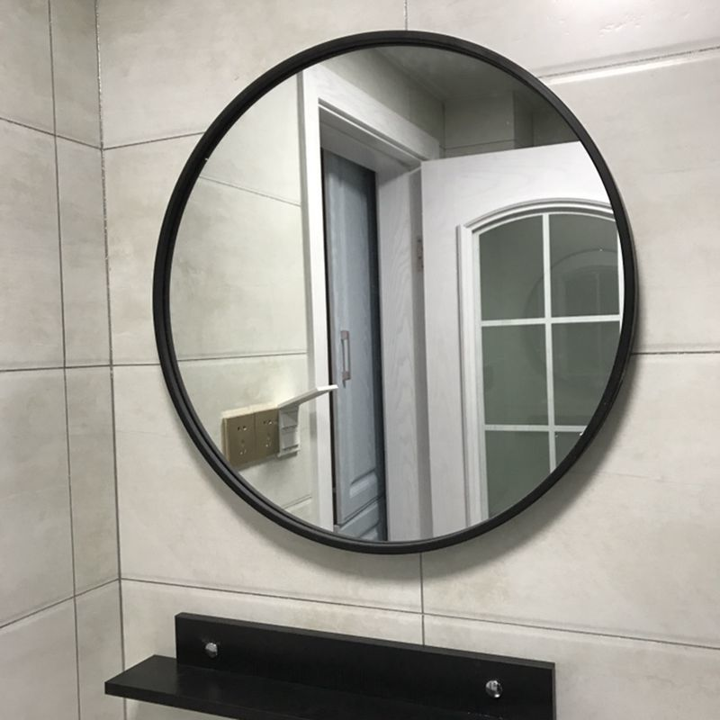 Wall mirror round mirror makeup mirror bathroom mirror ...