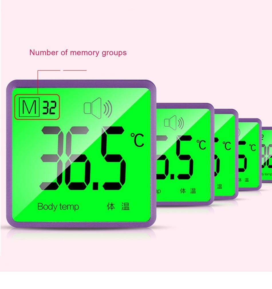 Bebê infravermelho testa termômetro digital casa eletrônico