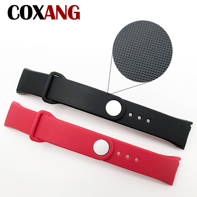 COXANG F1 F1Plus F601 Strap For F1 Smart Bracelet Silica gel Wrist Bracelet Replacement Smart Accessories For F1 Plus Smart Band