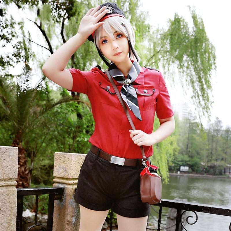 Anime! Game Touken Ranbu Online Hyuuga Masamune Uniform Cosplay Costume Summer Daily Clo ...
