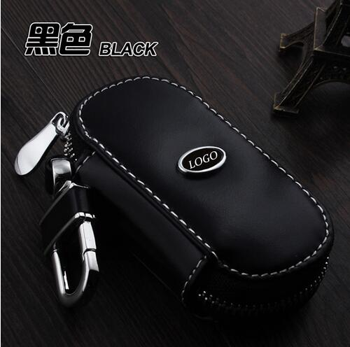 Leather key wallet car key case leather key holder for for Mercedes benz key holder