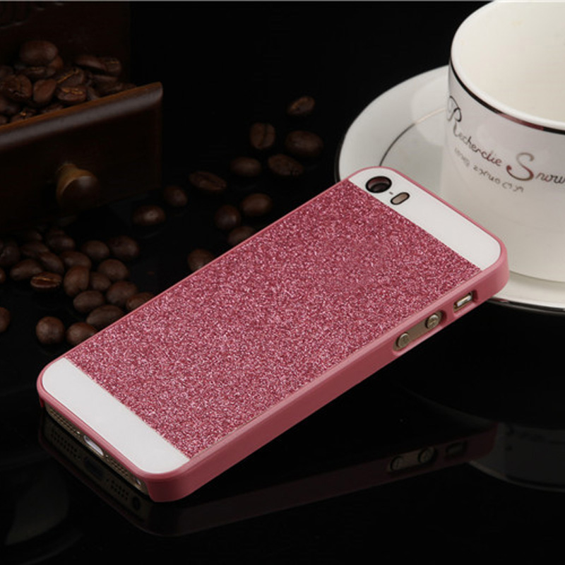 ec8a0dde8f YRFF Simple Fashion Shining phone cases For iPhone 5s 5 case PC Hard ...