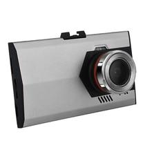 170 Degree lente gran angular de visión nocturna por infrarrojos Auto cámara Full HD 1080 P G-Sensor V80 coche DVR grabador #