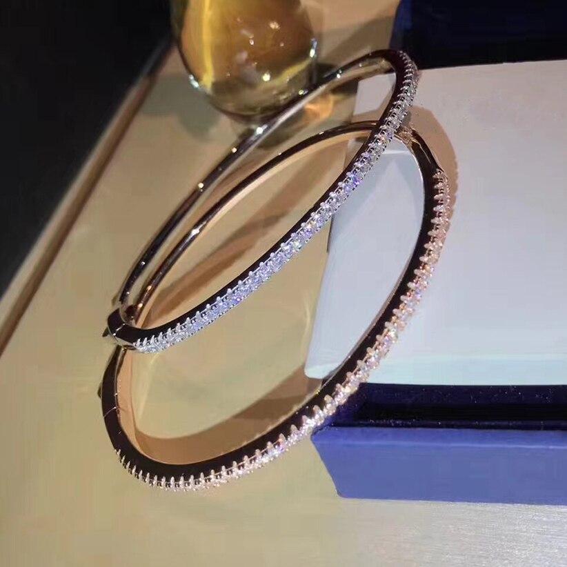7Sanyu Hot fashion brand 925 sterling silver celebrity party bracelet wedding party travel photo noble letter