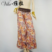 2017 Belly Dance Tribal Harem Pants Egyptian Lantern Pants For Christmas Loose Trousers Assorted Color Bellydance