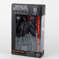 Siyah Serisi Darth Maul Star Wars PVC Action Figure Koleksiyon Model Oyuncak 16 cm