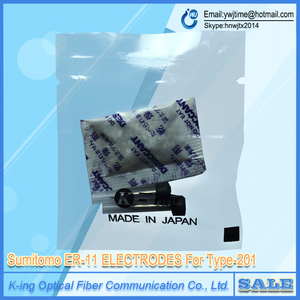 Image 1 - Sumitomo ER 11 Electrodes for Type 201 T 201 T201E Optical fiber fusion splicer