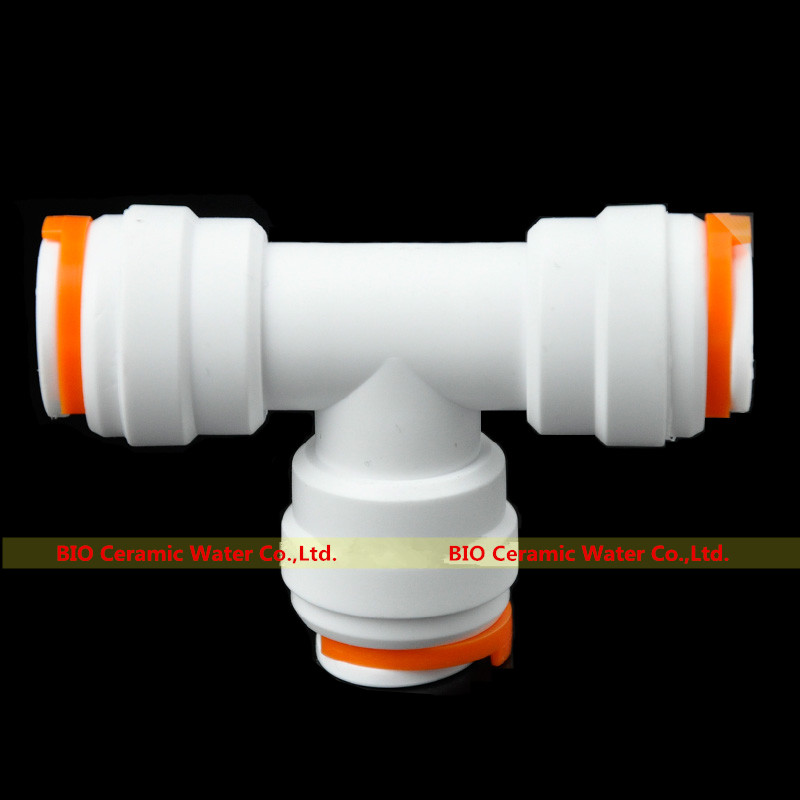 """5pcs/Lot Equal Tee Push Fit Quick Connector Fittings 1/2"""" Od Tube * 1/2"""" Od * 1/2"""" Od For Aquarium Ro Water System"""