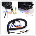 Replacement DJ Headphone Cable Cord Wire Line Plug For SONY MDR 7506 V6 CD700 900ST Repair Parts Headsets