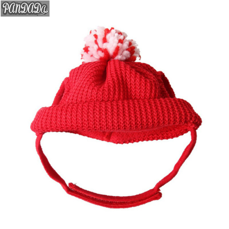 Pandada New Year Pet Dog Cat Hat Wool Knitted Costumes Cute Christmas Pet Product Puppy Caps Py