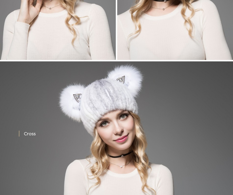 cat ear hat female winter PCM020 (11)