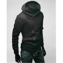 Virgil bear Hooded Men's 2017 Tops Brand Male Long Sleeve Hoodie Sweatshirt Men's Slim Solid Men's hoodie Sportswear XXL black